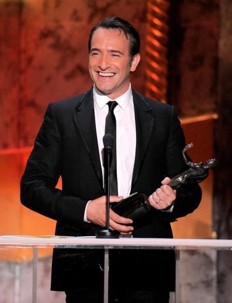 Sag awards 2012 premia elenco de film the help series for Dujardin dicaprio