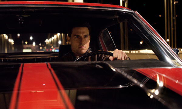 "Tom Cruise en una escena de ""Jack Reacher""."