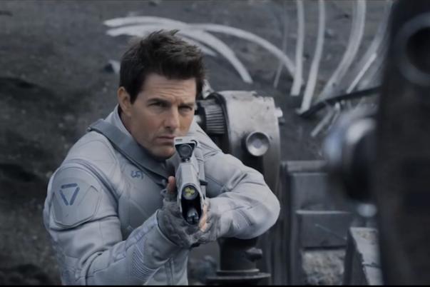 """Tom Cruise en """"Oblivion""""."""