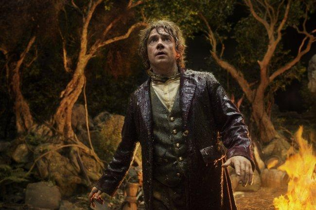 "Martin Freeman en ""The Hobbit: An Unexpected Journey""."