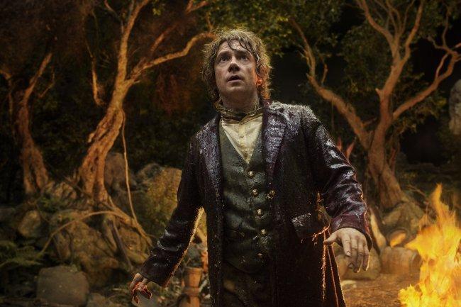 "Martin Freeman en ""The Hobbit: An Unexpected Journey""."