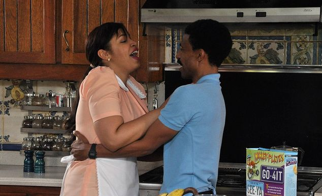 "Juliana Oneal y Fausto Mata en ""Profe por Accidente""."