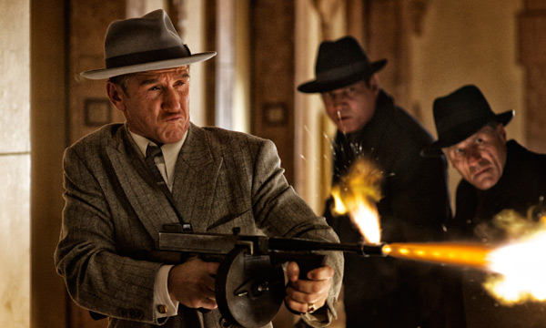 "Sean Penn en ""Gangster Squad""."