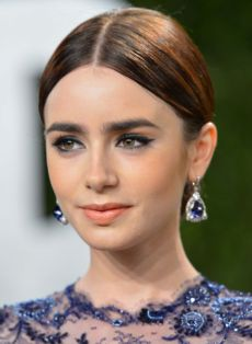 "Lily Collins estará en cines con ""The Mortal Instruments: City of Bones""."