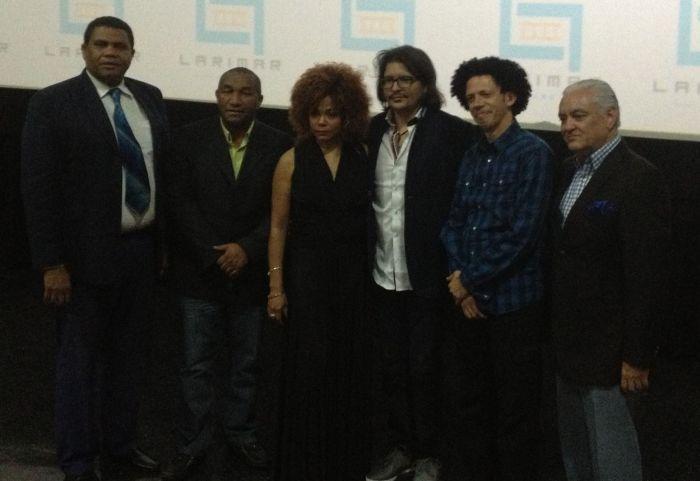 Miguel Pérez, Manolo Ozuna,Cheddy García, Bladimir Abud, Alan Brito y Cuquín Victoria.