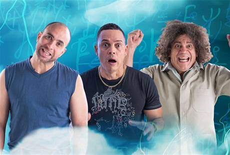 Irving Alberti es Samuel, Alexis Valdés es Pilón y Kenny Grullón es Pedro en ''Arrobá''.