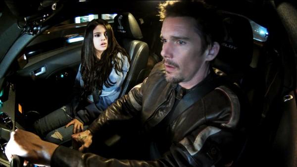 Gomez y Hawke en ''Getaway''.