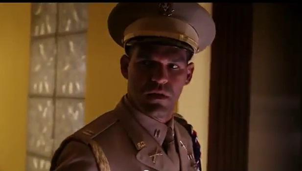 """Amaury Nolasco en """"El Teniente Amado""""."""