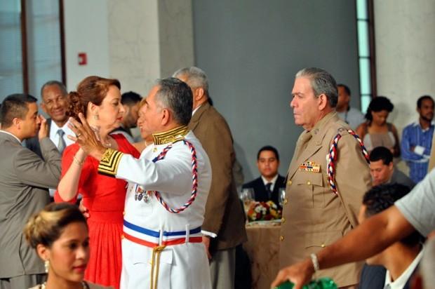 """Escena de """"El teniente Amado""""."""