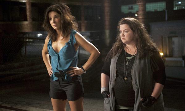 "Sandra Bullock y Melissa McCarthy en ""The Heat""."