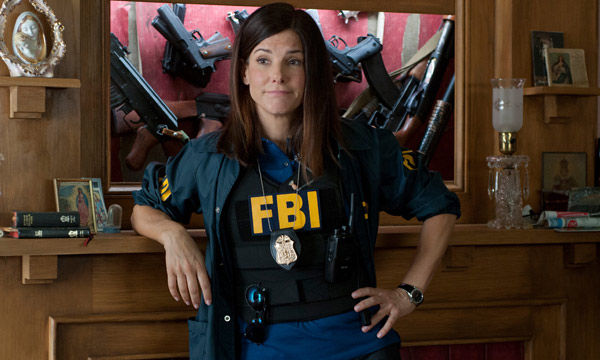 "Sandra Bullock en ""The Heat""."
