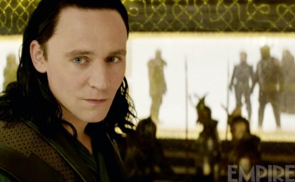 "Tom Hiddleston es Loki en ""Thor: The Dark World""."