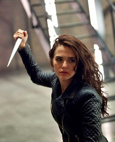"""Zoey Deutch en """"Vampire Academy""""."""