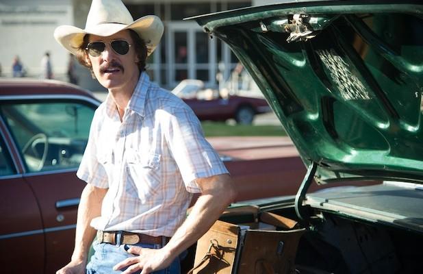 """Matthew McConaughey como Ron Woodroof en """"Dallas Buyers Club""""."""