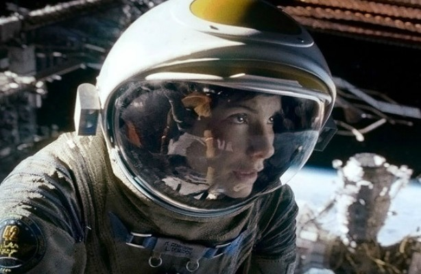 "Sandra Bullock como Ryan Stone en ""Gravity""."