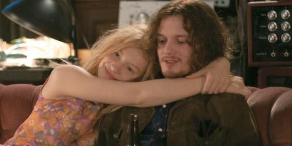 "Mia Wasikowska y Anton Yelchin en ""Only Lovers Left Alive""."