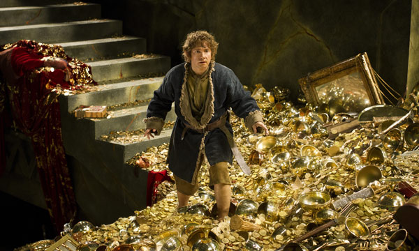"Martin Freeman en ""The Hobbit: The Desolation of Smaug""."