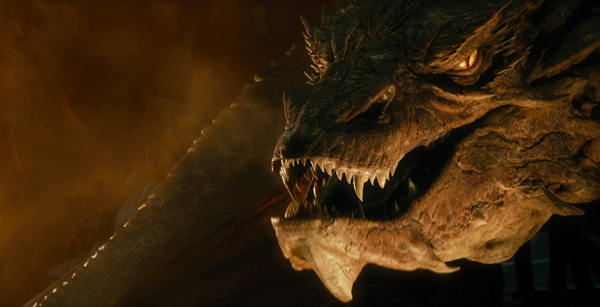 "Escena de  ""The Hobbit: The Desolation of Smaug""."