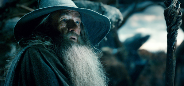 "Ian McKellen es Gandalf en ""The Hobbit: The Desolation of Smaug""."