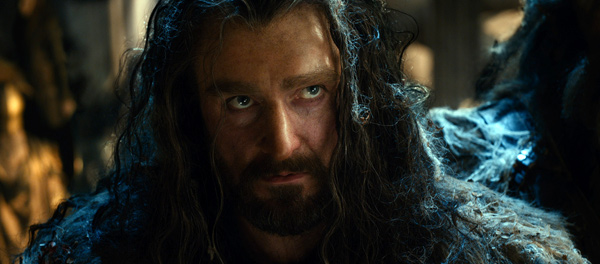 "Richard Armitage en Thorin en ""The Hobbit: The Desolation of Smaug""."