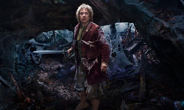 "Martin Freeman en ""The Hobbit: The Desolation of Smaug""."