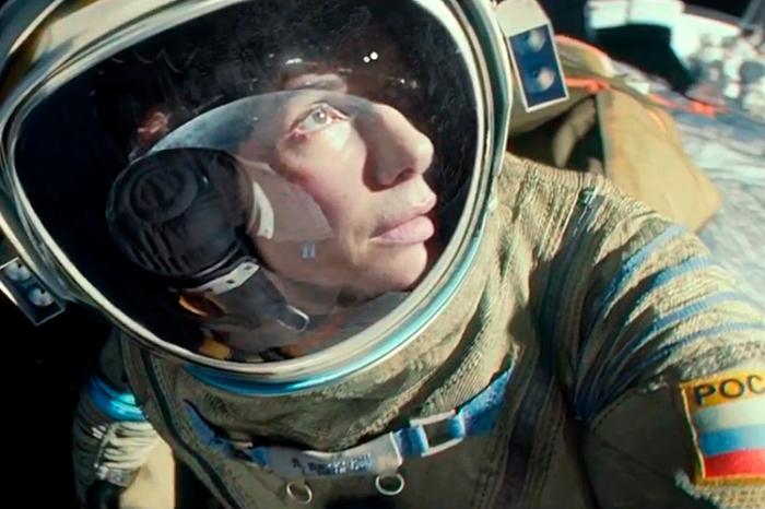 """Escena de """"Gravity""""."""