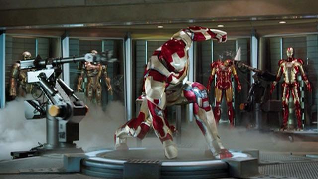 Escena de ''Iron Man 3''.
