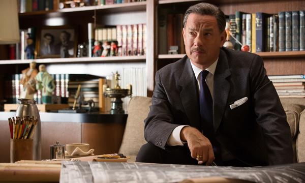 "Tom Hanks en ""Saving Mr. Banks""."