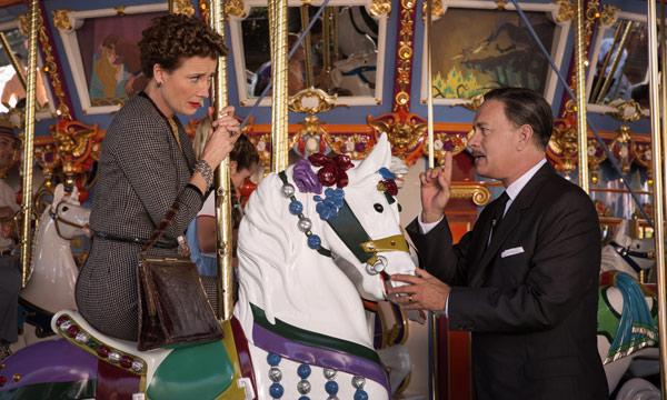 """Emma Thompson y Tom Hanks en """"Saving Mr. Banks""""."""