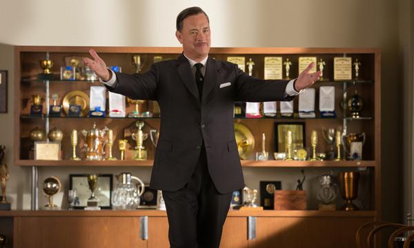 "Tom Hanks es Walt Disney en ""Saving Mr. Banks""."