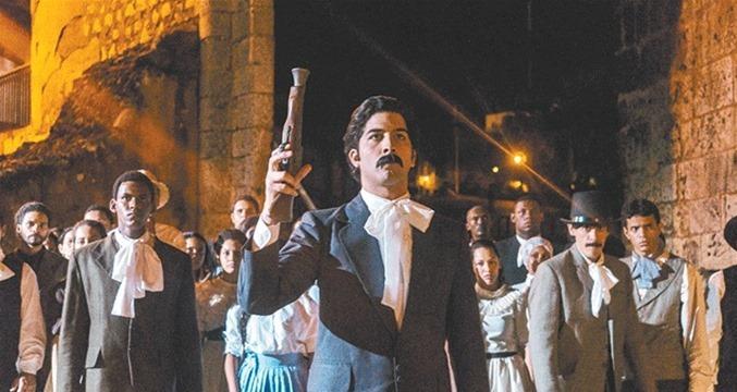 """Josué Guerrero en """"Duarte, traición y gloria""""."""