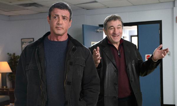 """Sylvester Stallone y Robert De Niro en """"Grudge Match""""."""