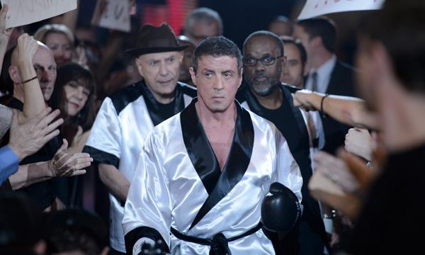 """Stallone en una escena de """"Grudge Match""""."""