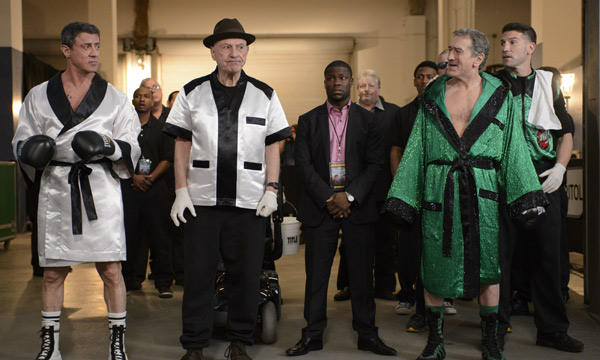 "Escena de ""Grudge Match""."
