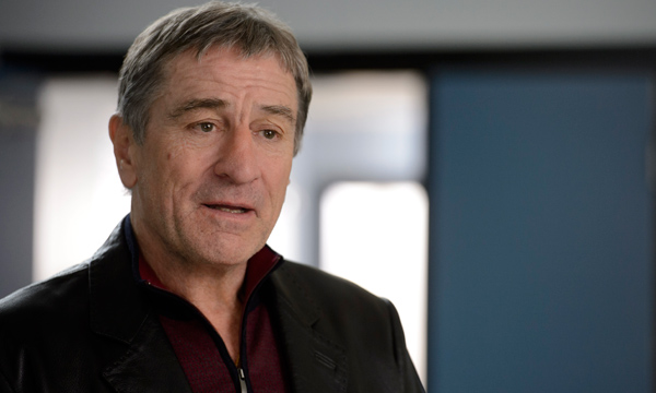 "Robert de niro es Billy 'The Kid' McDonnen en ""Grudge Match""."