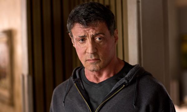 "Sylvester Stallone es Henry 'Razor' Sharp en ""Grudge Match""."