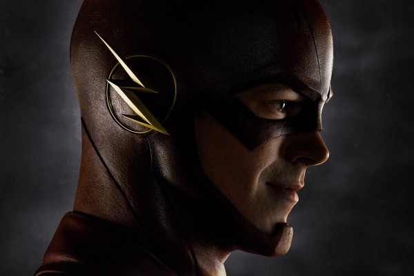 "Grant Gustin en ""Flash""."