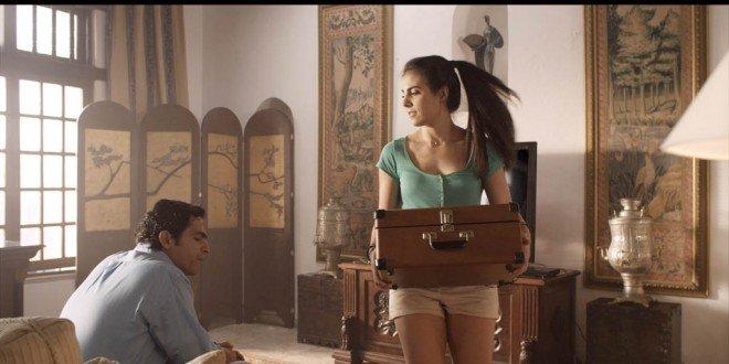 """Christian Alvarez y Sarah Jorge León en """"Al Sur de la Inocencia""""."""