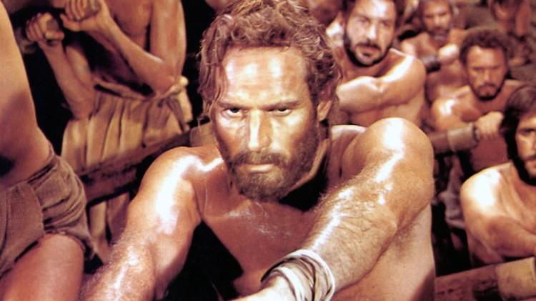 """Charlton Heston en """"Ben-Hur""""."""