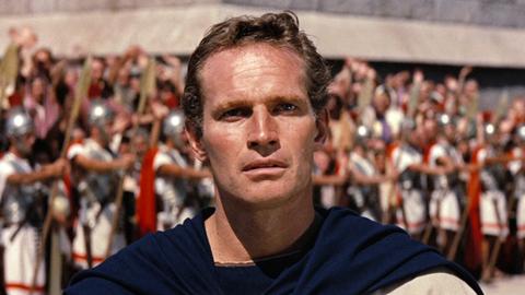 """Charlton Heston es Judah Ben-Hur en """"Ben-Hur""""."""