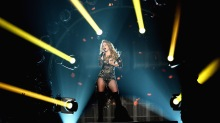 Shakira durante su participación en los Billboard Music Awards 2014.