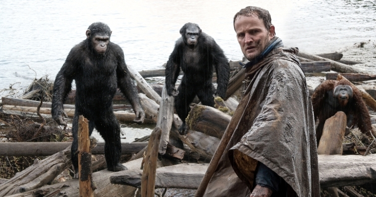 "Jason Clarke en ""Dawn of the Planet of the Apes""."
