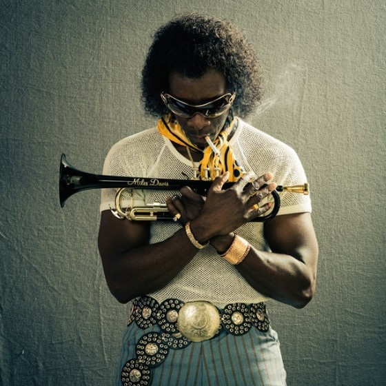 "Don Cheadle en ""Miles Ahead""."