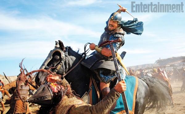 """Christian Bale como Moises en """"Exodus: Gods and Kings""""."""