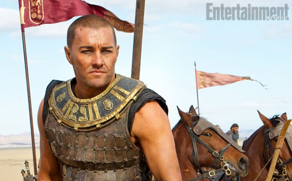 "Joel Edgerton como Rhamses en ""Exodus: Gods and Kings""."