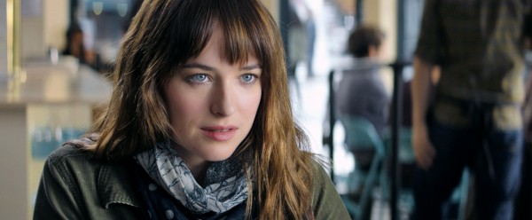 "Dakota Johnson es Anastasia Steele en ""Fifty Shades of Grey""."