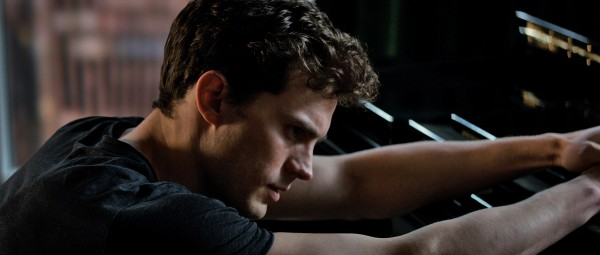 "Jamie Dornan es Christian Grey en ""Fifty Shades of Grey""."