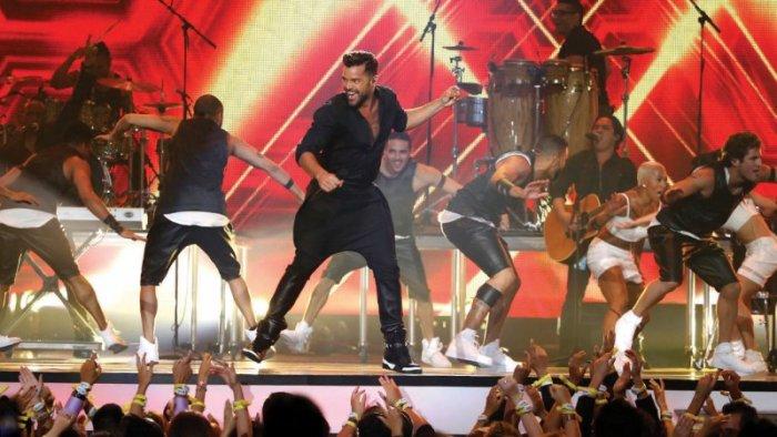 Ricky Martin durante su intervención en una entrega pasada de los Latin Billboards Awards.