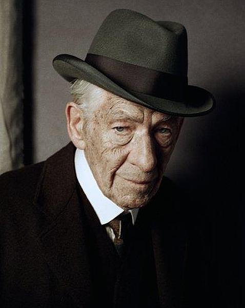 """Ian McKellen en """"Mr. Holmes""""."""