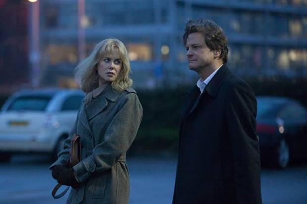 "Nicole Kidman y Colin Firth en ""Before I Go to Sleep""."